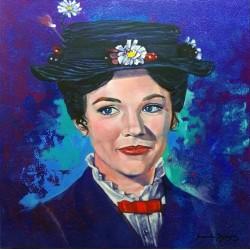 Mary Poppins. Acrílico...